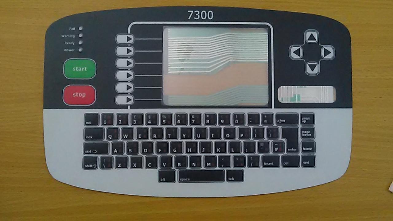 TECLADO LINX 7300